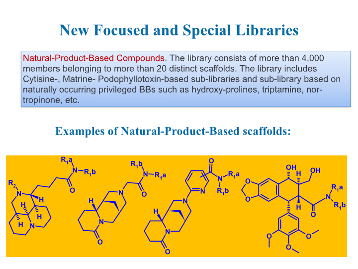 compound libraries