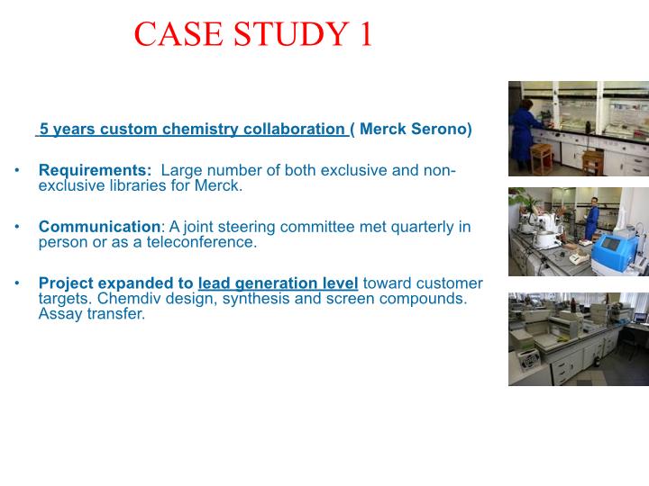 custom chemistry