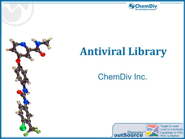 Antiviral Library - Chemdiv